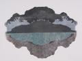 Ash Strata: Glacial Lagoon