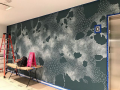 Facebook Mural in Progress