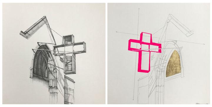 Paul Street Church / Pink Cross