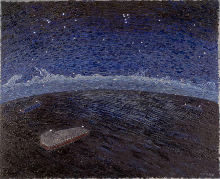 Ships Beneath the Night Sky