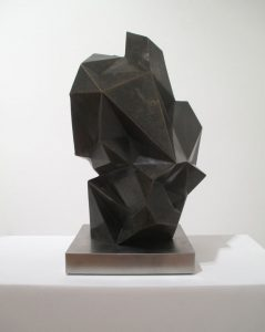 "2016, bronze, 20"" x 12"" x 12"", edition of 9"