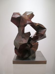 "2016, bronze, 26"" x 18"" x 12"", edition of 9"