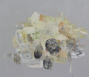 "Deborah Dancy Bouquet 2015 oil on canvas 36"" x 40"""