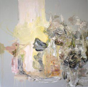 Deborah Dancy Pretty Poison 2015 Oil on canvas 36 x 36 inches