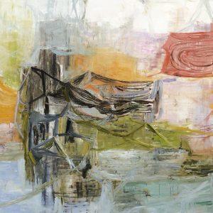 Deborah Dancy Vernal Pools 2014 Oil on canvas 60 x 60 inches