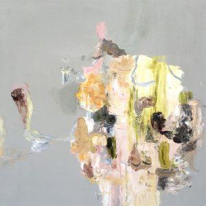 Deborah Dancy Woodland Muff 2015 Oil on canvas 36 x 36 inches